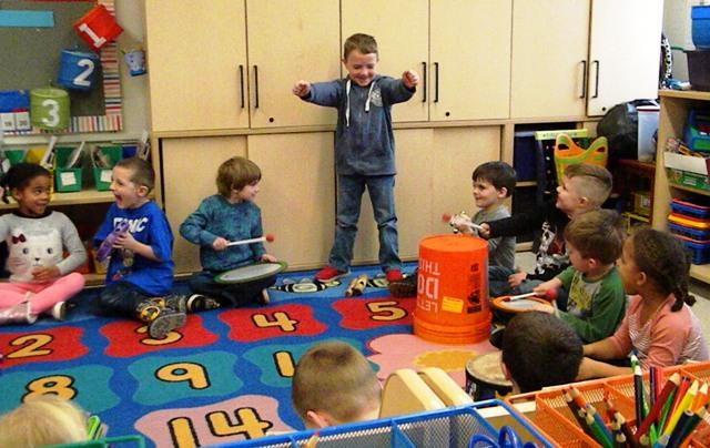 PCS Kindergarten explores the Science of Sound
